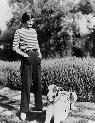 Coco Chanel en 1930