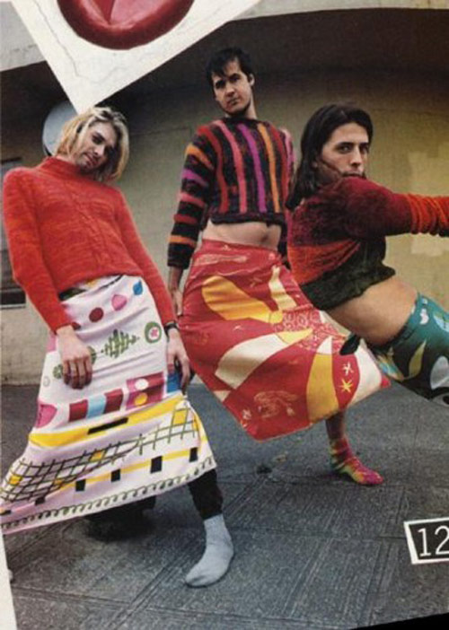 Le groupe Nirvana